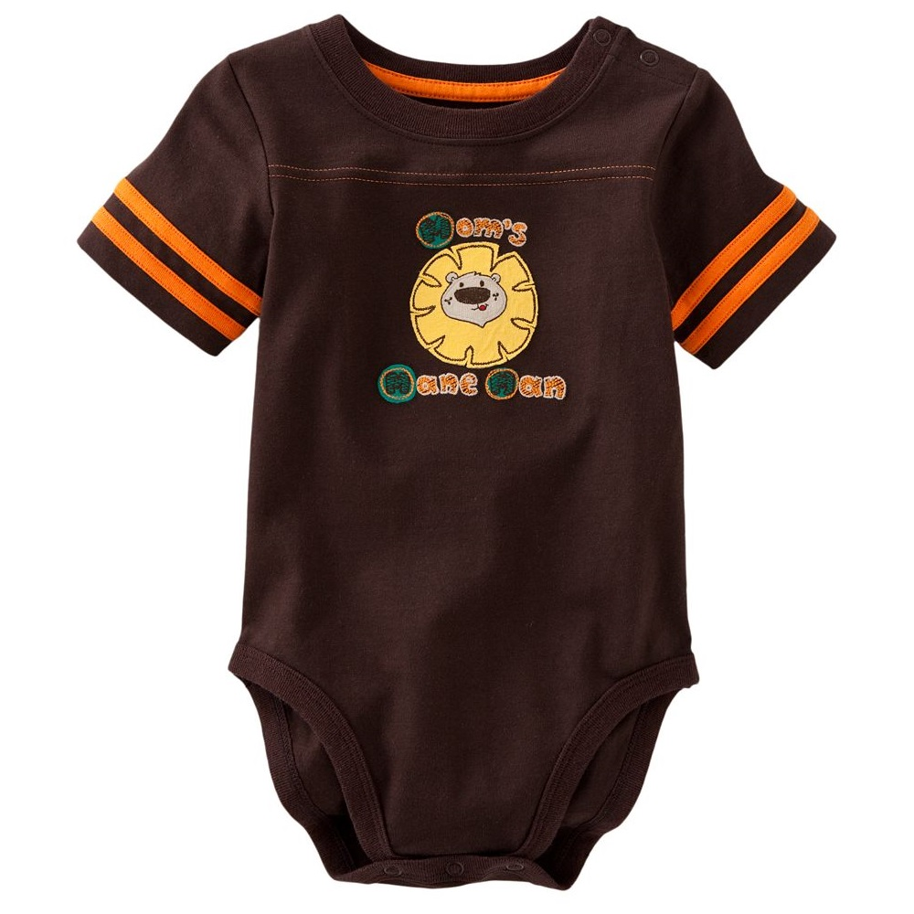 Fashion Baby Bodysuits Cotton Lion Newborn T Shirts Baby