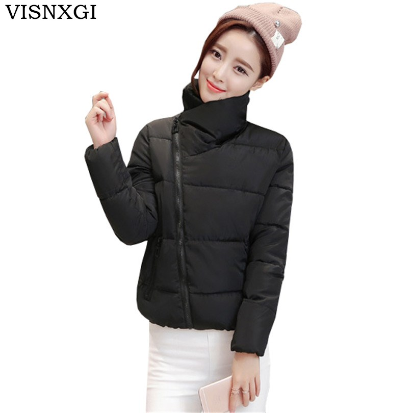 2017 Women Long Cotton Coat Parkas Female Winter Padded Zipper Casaco Solid Hooded Warm Lady Outwear Bomber Jacket Overcoat S274 цены онлайн