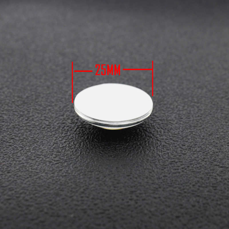 TAFREE מכירה לוהטת 5 יח'\חבילה 12mm/15mm/16mm/18mm/20mm פשוט שחור לבן סגנון עגול בעבודת יד תמונה זכוכית Cabochons