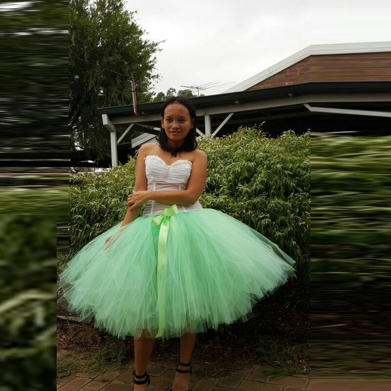 Коктейльное Выходные туфли на выпускной бал юбка мятно-зеленый юбка-пачка картинка упругие талии по колено бальное платье женская одежда с...