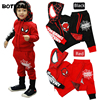 Spiderman Children Boys Clothing Set Baby Boy Spider Man Sports Suits 2 6 Years Kids 2pcs