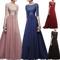 Chiffonone piece Dress Long