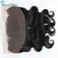 brazilian virgin hair body wave closure 13×4 lace frontal closure 10-20inch  half head health end no spilt swiss lace