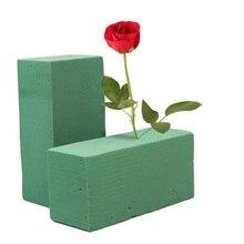 Floral Foam Blocks , 10pcs Flower Brick Mud Florist Supplies Dry Form Flower Holder Oasis Water Absorption for Home Garden Decor