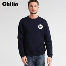 Фотография Chilin Men Sweatshirt New Autumn Winter Men