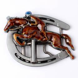 Лошадь пряжки ремня Конный пряжки ремня Smooth пряжки