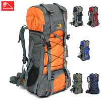 60L Climbing Bags Travel journal Backpack Mountaineering Tourist Backpack Hiking Trekking Sport bag Outdoor Camping Rucksack