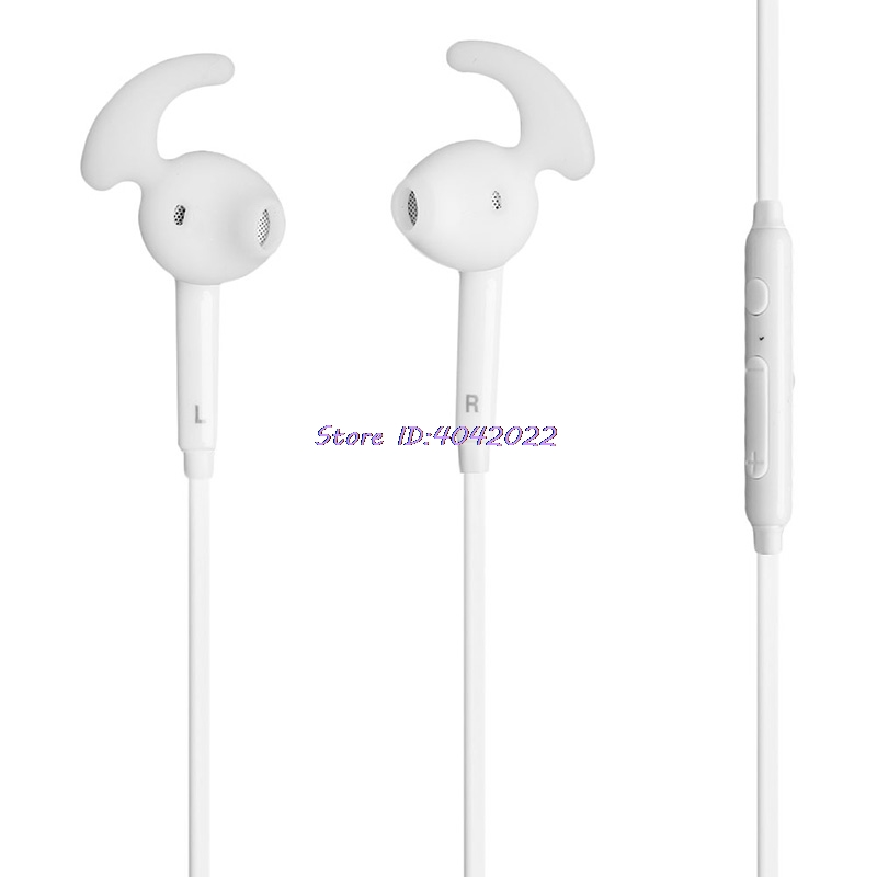 3.5mm In-Ear Headset Earphone Earbud Mic for Samsung Galaxy S7/S7 Edge