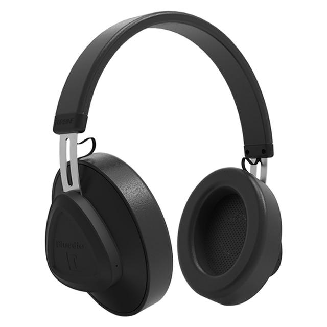 Оригинальные беспроводные bluetooth наушники Bluedio TM с микрофоном и монитором, студийная гарнитура для музыки и телефонов