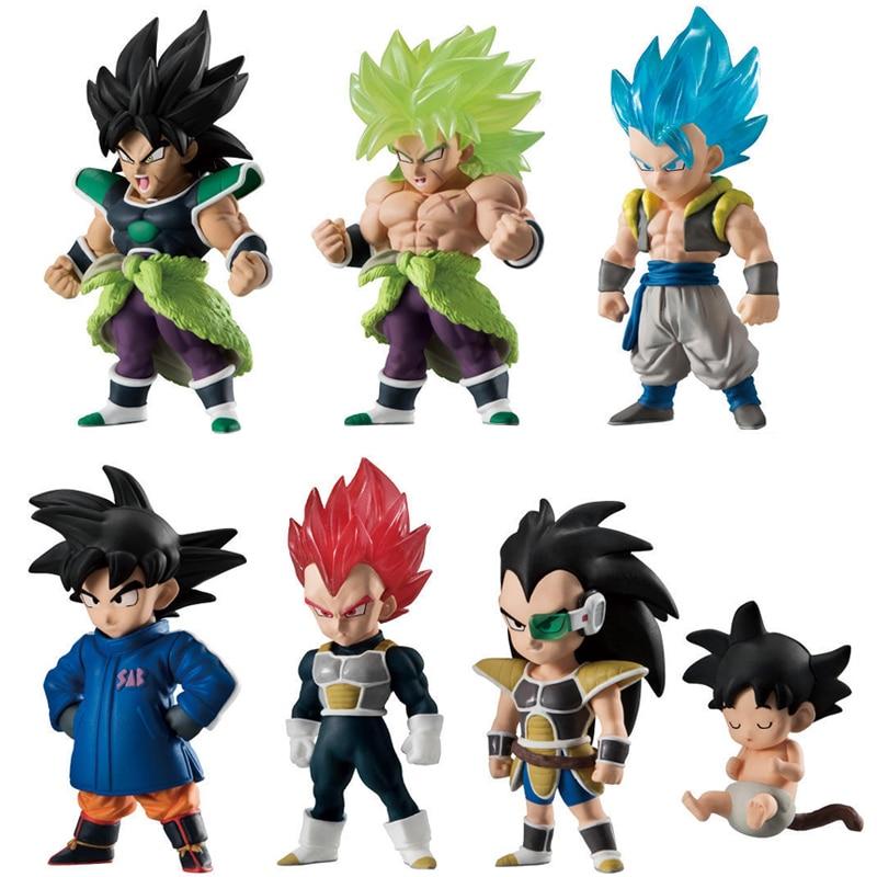 100% Original Dragon Ball Super ULTIMATE SOLDIERS Broli Blue Gogeta Vegeta Goku PVC Action Figure Toys Figurals Dolls