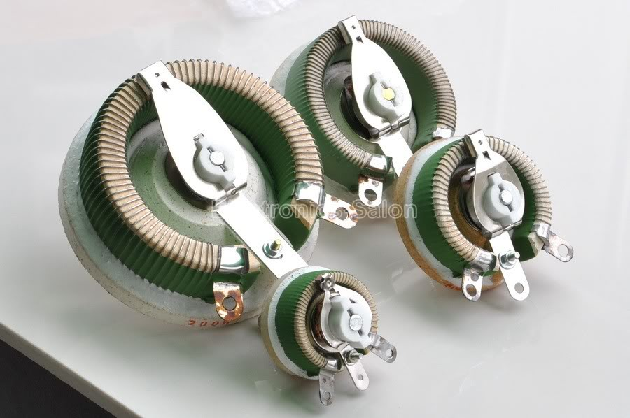 Cheap variable resistor