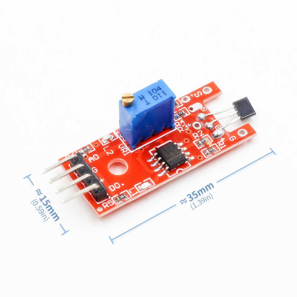 KY 024 KY-024 Linear Magnetic Hall Effect Switches Speed Counting Sensor  Module for Arduino AVR MCU PIC