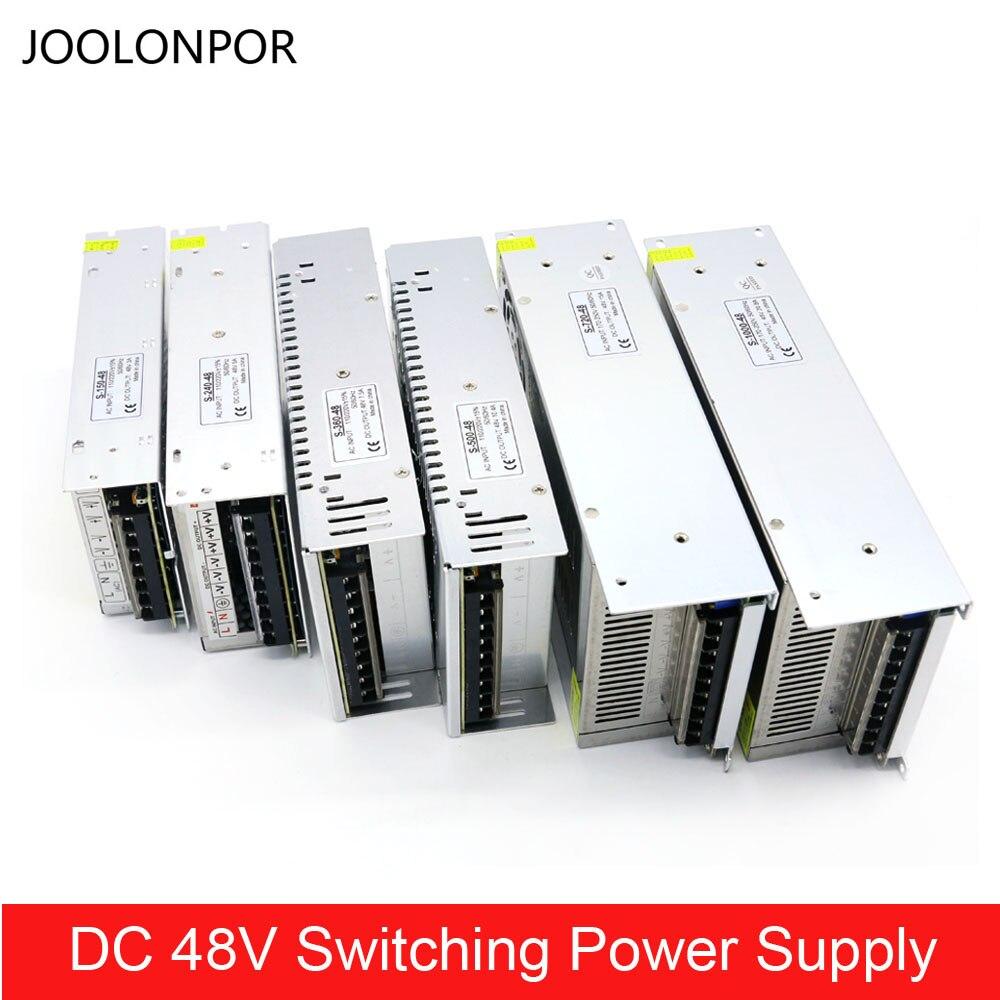 Трансформатор переключатель режима питания постоянного тока 48 В 3A 5A 7.5A 10A 15A 20A 150 Вт 240 Вт 350 360 Вт 500 Вт 600 Вт 720 Вт 800 Вт 1000 Вт для освещения