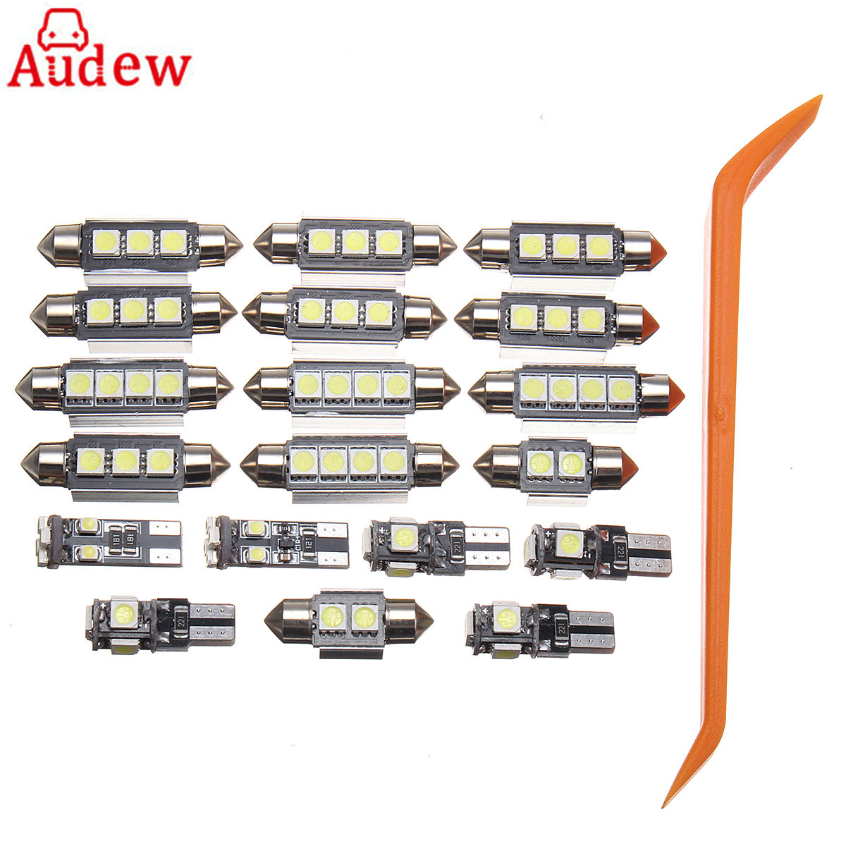 20 pcs white car led lamp interior led light kit with tool for vw passat b5 1997 2000 in signal. Black Bedroom Furniture Sets. Home Design Ideas