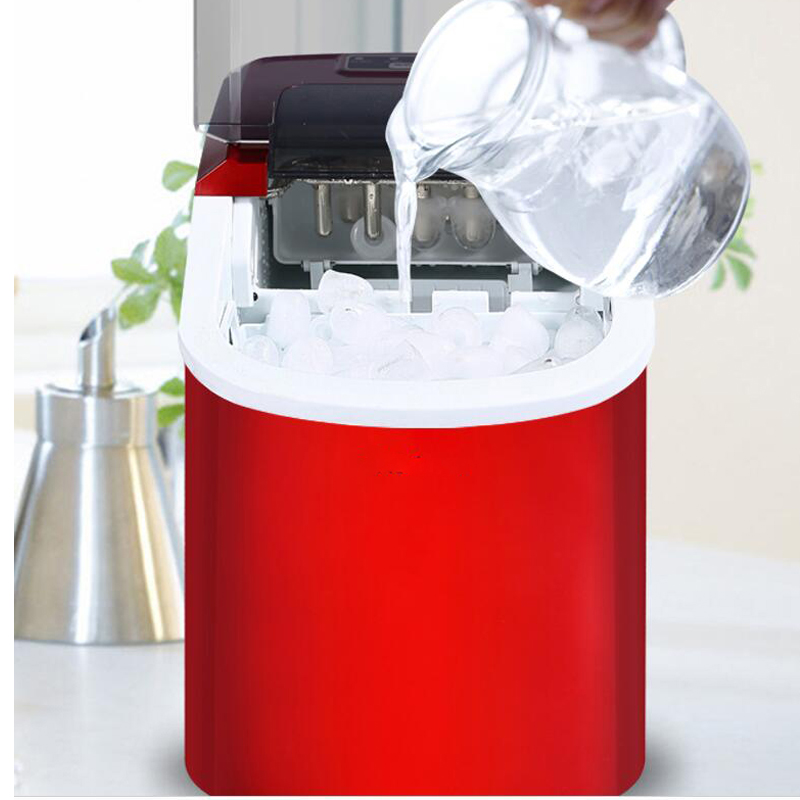 Household Ice Maker Milk Tea Shop/Cafe/Cold Drink Shop Ice Cube Machine Stainless Steel Ice MachineHousehold Ice Maker Milk Tea Shop/Cafe/Cold Drink Shop Ice Cube Machine Stainless Steel Ice Machine