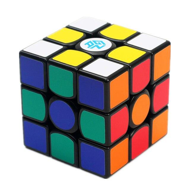 Gan 356 mestre do ar quebra cabeça cubo de velocidade mágica 3x3x3 profissional gans cubo magico gan356 brinquedos de ar para crianças