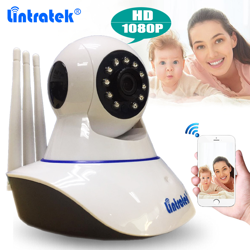 Lintratek Wireless Security 2MP Wifi Camera HD 1080P IP Camera with Two way Audio IR Night Vision Remote Control for Home Office keyshare dual bulb night vision led light kit for remote control drones