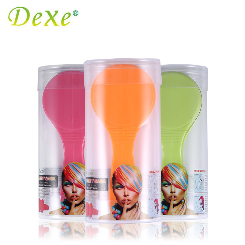 Dexe Temporary Hair Color Chalk Powder Beauty Gaga Halloween Party Makeup Disposable DIY Super Hair Dye Colorful Styling Kit 6