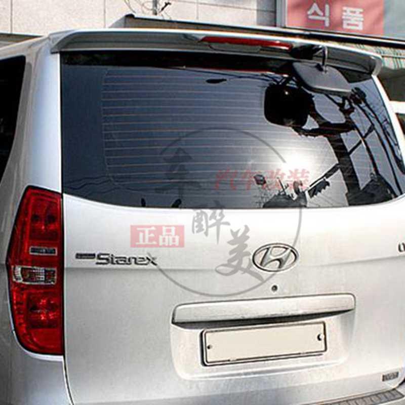 Voor H-1 Spoiler Hoge Kwaliteit ABS Materiaal Auto Achtervleugel Primer Kleur Spoiler Voor Hyundai H-1 Wagon Spoiler