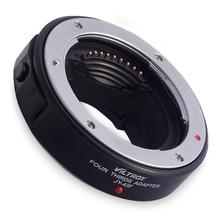 Viltrox JY-43F автофокусом Крепление объектива адаптер для Four Thirds 4/3 объектив Olympus Panasonic Micro 4/3 DSLR Камера e-pl3 gh4 G5