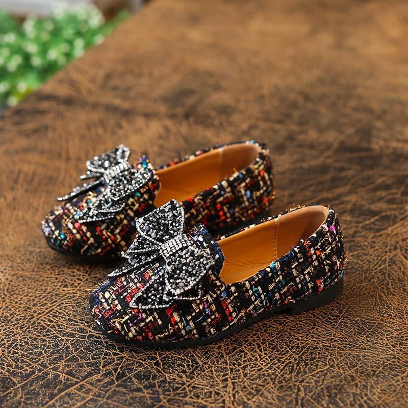 Lente 2018 Nieuwe kinder schoenen Meisjes Schoenen Mode Schattig Boog - Kinderschoenen - Foto 2
