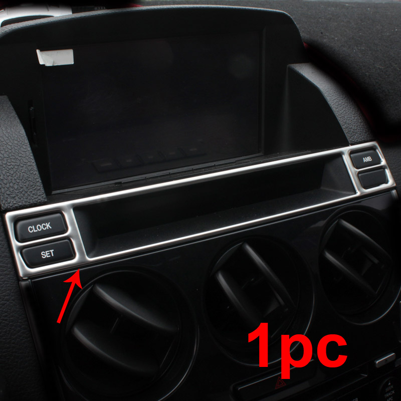 for mazda 6 2013 Middle control panel air outlet Decoration frame in Interior Mouldings from Automobiles Motorcycles