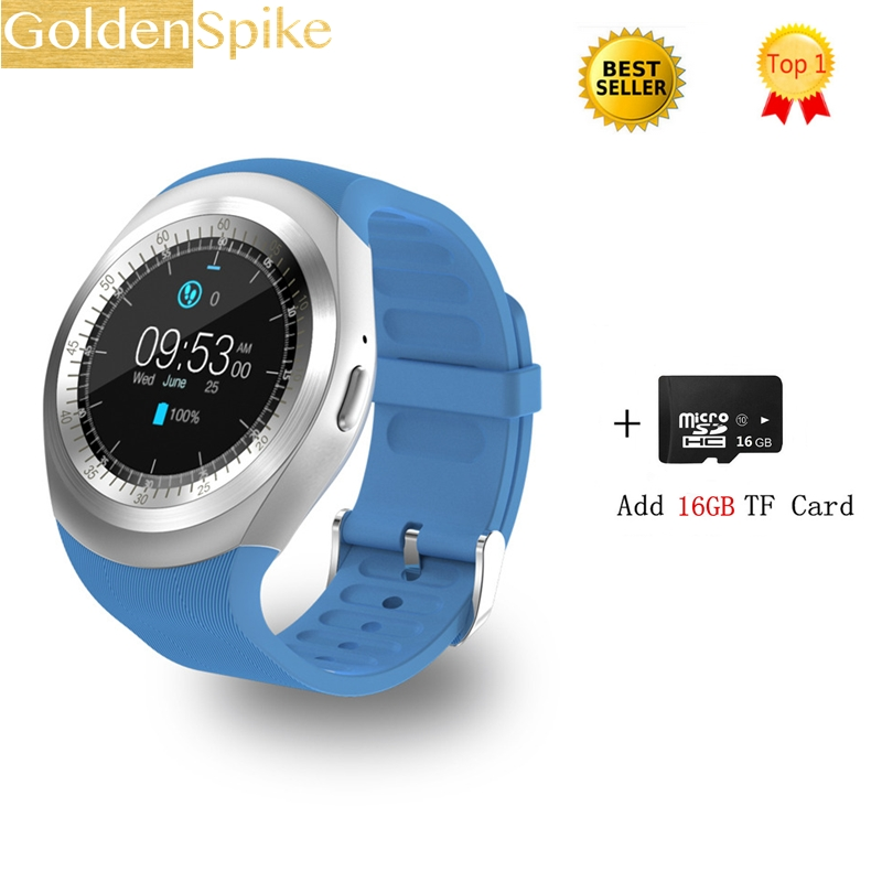 Y1 Smart Watch Support Nano SIM Card e TF Card Smartwatch PK dm09 X6 U8 M26 Estoque de eletrônicos inteligentes wearable para iOS Android meanit m5