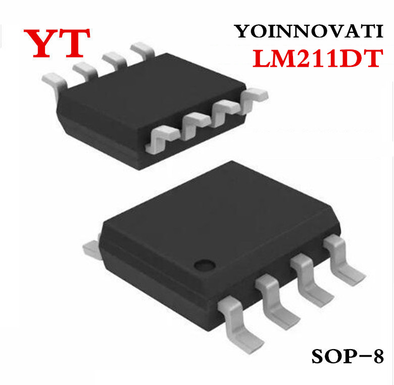 Best quality 50 pcs/lot LM211DT LM211 IC VOLTAGE COMPARATOR 8-SOIC Free shipping