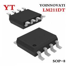 Best quality 50 pcs/lot LM211DT LM211 IC VOLTAGE COMPARATOR
