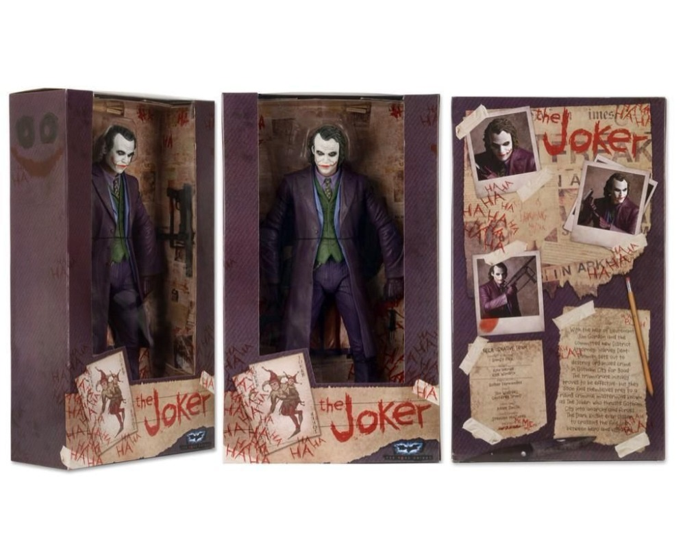 """Image 4 - 18cm THE JOKER HEATH LEDGER DC COMICS Action Figure Model 7"""" Male Mini Figure-in Action & Toy Figures from Toys & Hobbies"""