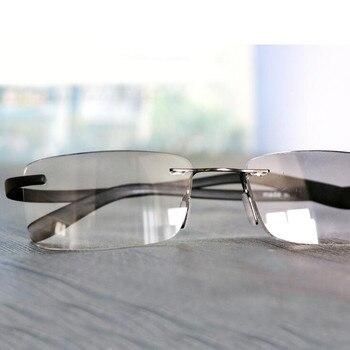 8ffb084851 Clip de gafas de lectura para la nariz Mini gafas de lectura plegables para  hombres y mujeres fácil de llevar con caja de llavero Prince-nez de vidrio