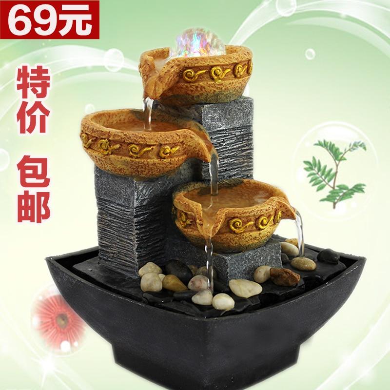 Breve bola de feng shui fuente de agua decoraci n de for Fuente agua feng shui