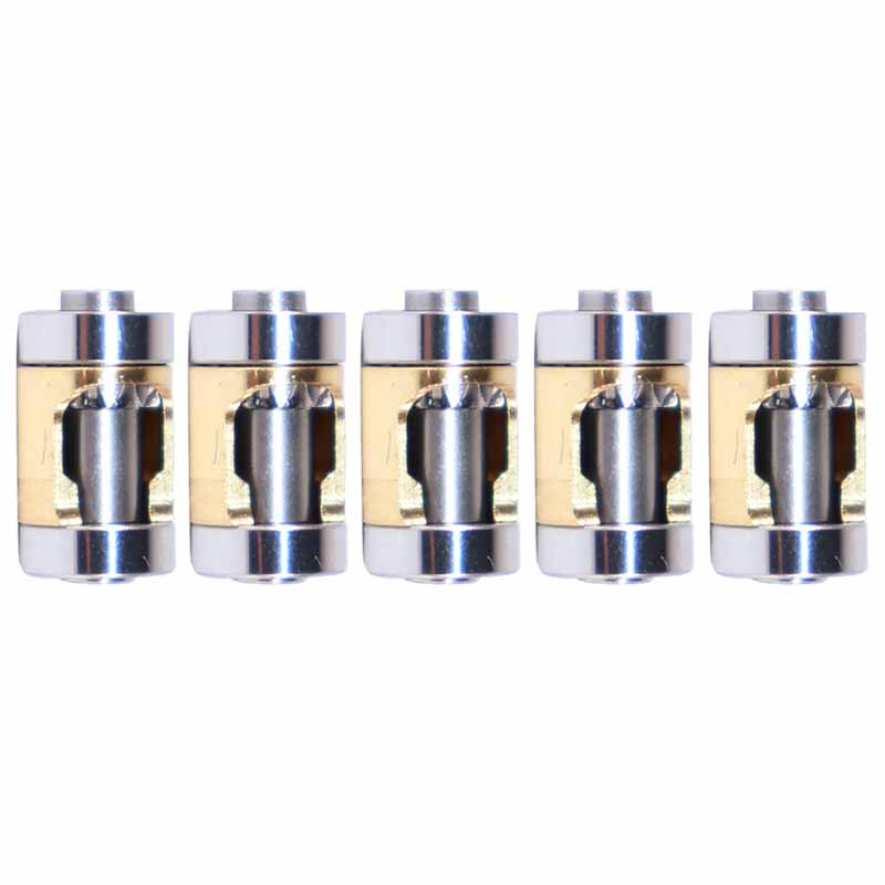 5pcs Cartridge/Rotor For Dental Low Speed Handpiece E Type Contra Angle Handpiece 1:1 Push Botton