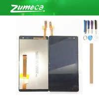 Alta calidad para HTC Desire 600 pantalla LCD + digitalizador de pantalla táctil pieza de repuesto Color negro con cinta y herramienta