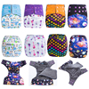 JinoBaby Aio Cloth Diaper Onesize Reusable Nappies Baby Diapers For Nb To 38lbs