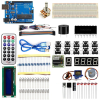 Starter Kit For Arduino UNO R3 Learning Basic Suite For Board Stepper Motor 1602 LCD SG90 Servo MB 102 DIY Project Free Shipping