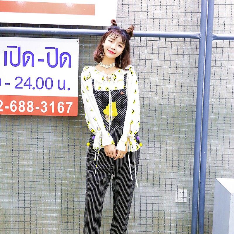 Neige Sweet Col Manches Noeud Feuille Avec Coréenne Vc102 Lanterne À De Jaune Longues Lolita Blouse Princesse Papillon Automne Lotus Académie K3F1cJTl