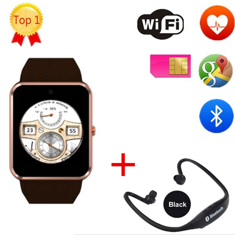 NEW QW08 Android 4 4 1 54 inch 3G Smart Watch Phone MTK6572