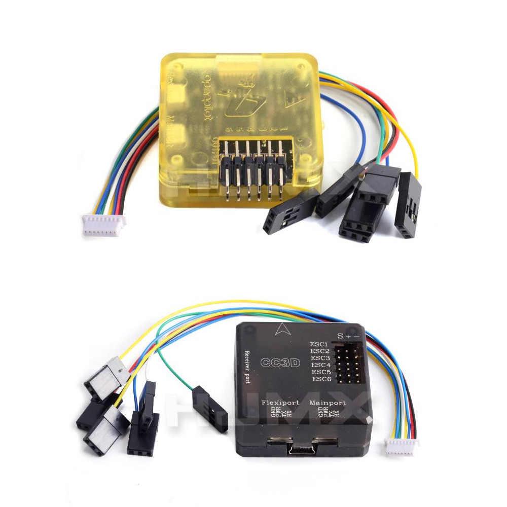 medium resolution of open pilot cc3d atom mini cc3d evo flight controller with flexiport for rc quadcopter parts for