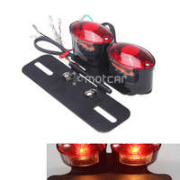Universal 12V Led Car Led Brake Light Car Plate Light Bulbs Vehicle Red Car Light Indicator