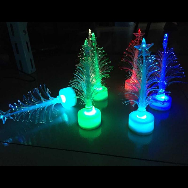 7 color changing Colorful Changing Christmas Tree Decoration LED Light XMAS Night Lamp