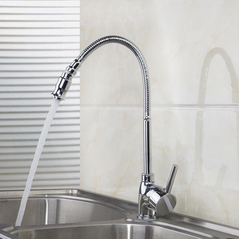 e pak BEST Kitchen Rotatable Spout Faucet Vanity Sink Mixer Taps 360 Degree Swivel Spout torneira