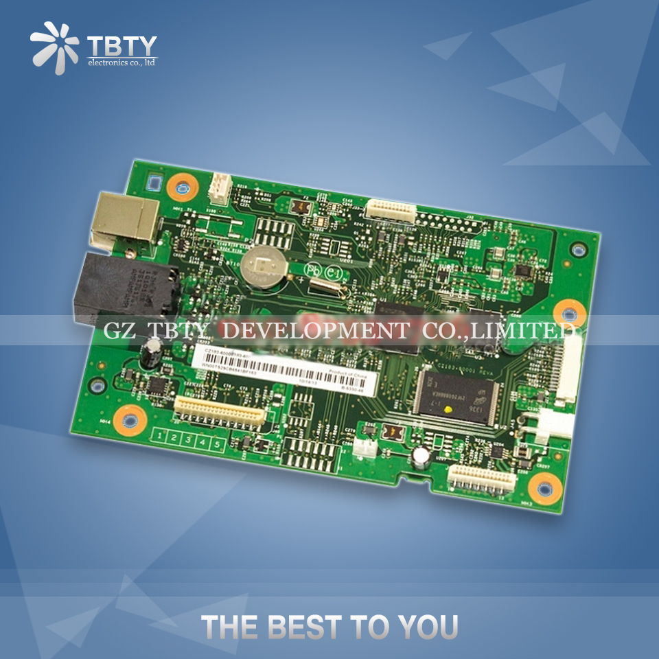 100% Guarantee Test Main Formatter Board For HP M125 M127 M128 m127fn CZ183-60001 Mainboard On Sale free shipping formatter board for hp laserjet pro mfp m127fn m128fn m127fw m128fw cz181 60001 cz183 60001 print part on sale