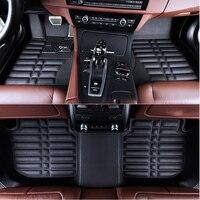 Автомобильный коврик коврики для Audi A1 A3 A4 A5 A6 A7 A8 A8L Q3 Q5 Q7 S6 S7 s8 SQ5 TT RS4 RS5 Кабриолет RS6 RS7