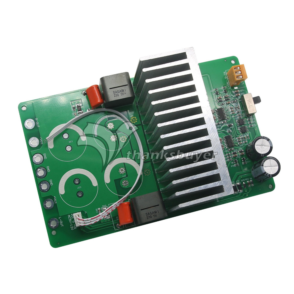 Top Iraud2000 Class D Amplifier Finished Board 2000W Irs2092s IRFB4227 7G23A-22UH Digital Amplifier Board