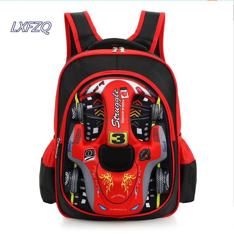 mochilas escolares infantis Car styling school bag school bags for girls Children's backpack School knapsack Backpack for boys цена