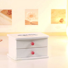Ballet wool jewelry box jewelry music box birthday wedding and Christmas gift for home decoration free shipping