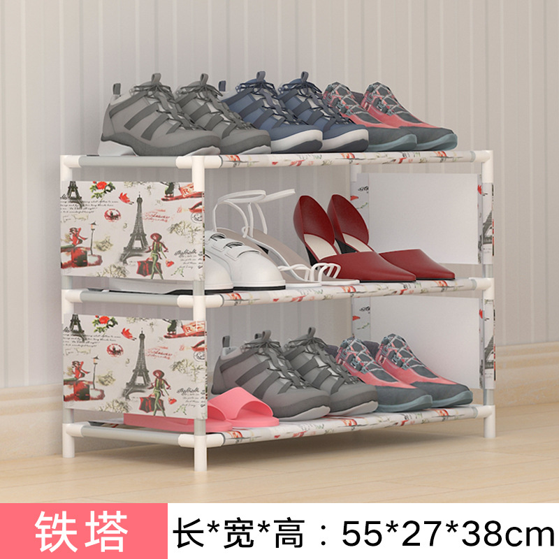 3 Tier Shoe Rack Nonwovens Easy to install Shoe cabinet Shelf Storage Organizer Stand Holder Space Saving home Furniture-in Shoe Cabinets from Furniture on ... & 3 Tier Shoe Rack Nonwovens Easy to install Shoe cabinet Shelf ...