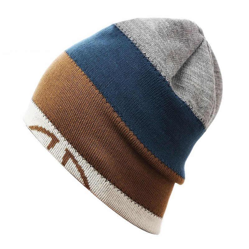 Унисекс Зимние шапки шапочки с черепами колпачок для провода термальная уличная Лыжная шляпа двойная односторонняя головка Лыжная Шапка Toucas De Inverno Gorros