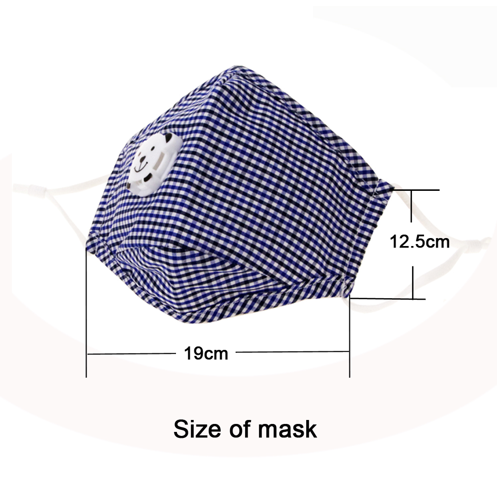Dust Mask for Child  PM2.5 Activated Carbon Filter Mask Outdoor Pollen Allergy Filtration Exhaust Gas Mouse-muffle Outdoor smokeproof filtration | outdoor pollen allergy pm2.5 filter